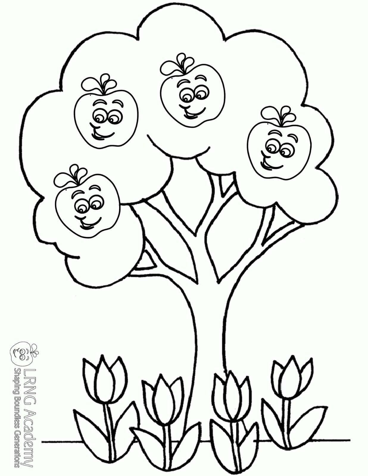 Spring Appie Tree - Appie Activities - LRNG Academy - Shaping Boundless Generations - Online Tutoring | Online Learning | eLearning | Virtual School | Tutoring Service | Virtual Learning