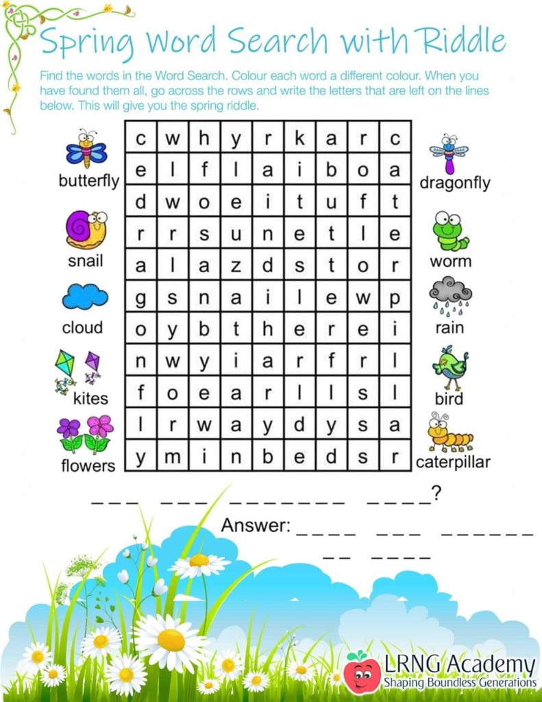 Word Search Riddle - Appie Activities - LRNG Academy - Shaping Boundless Generations - Online Tutoring | Online Learning | eLearning | Virtual School | Tutoring Service | Virtual Learning